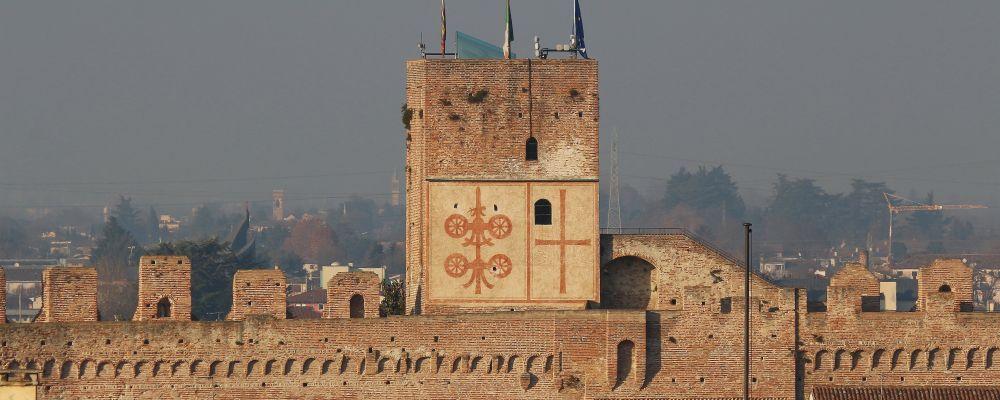 Cittadella torre Bassanese, ville médiévale en Vénétie