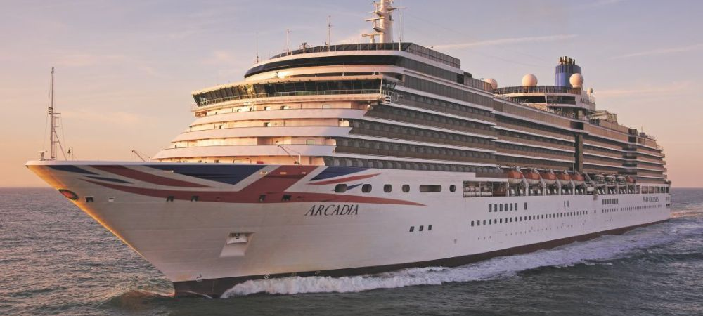 Arcadia , P&O Cruises, private transfer service with a professional driver from Venice cruise terminal