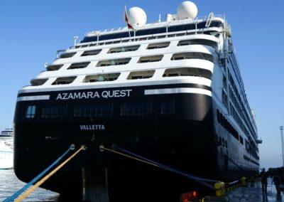 Azamara Quest, Venice cruise terminal