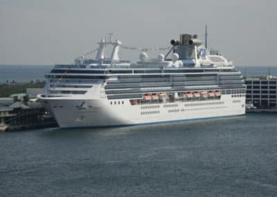 Island Princess, Venice cruise terminal