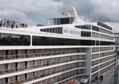 MSC Orchestra, Venice cruise terminal