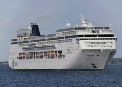 MSC Sinfonia, Venice cruise terminal
