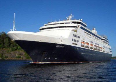 Ms Veendam, Venice cruise terminal