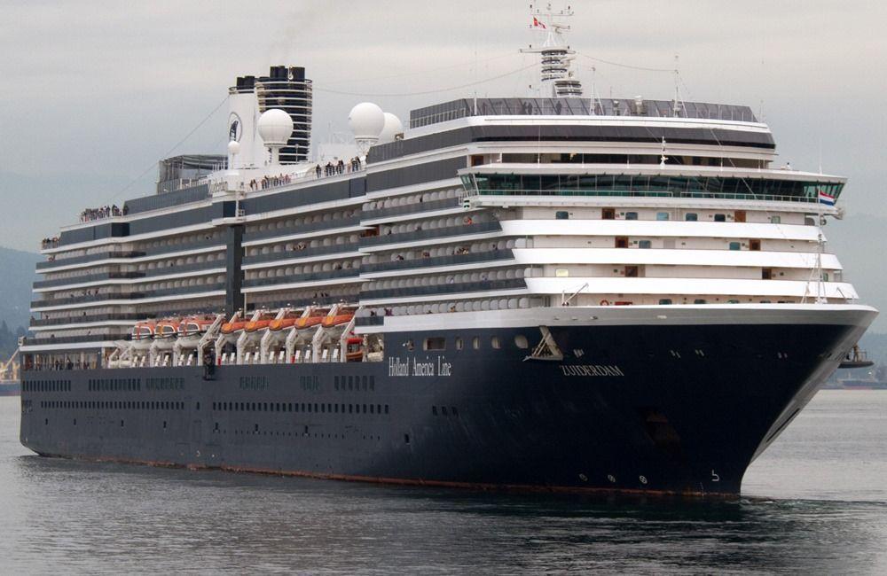 Ms Zuiderdam, porto di Venezia