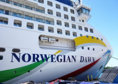 Norwegian Dawn, Venice cruise terminal