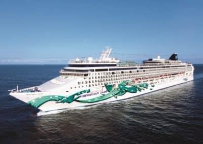Norwegian Jade, Venice cruise terminal