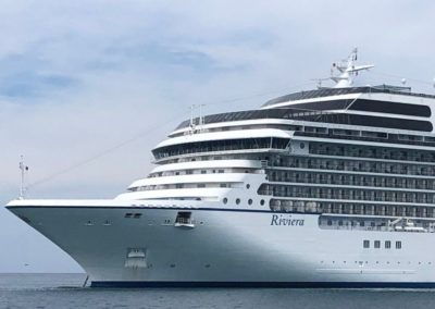 Oceania Riviera, terminal de croisières de Venise
